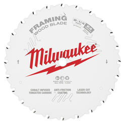 Milwaukee  8-1/4 in. Dia. x 5/8 in.  Circular Saw Blade  Tungsten Carbide  24 teeth 1 pk