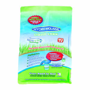 Hydro Mousse Liquid Lawn  As Seen on TV  Fescue Blend  Grass Seed  1 lb.