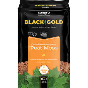 Black Gold  Organic Sphagnum Peat Moss  3 cu. ft.
