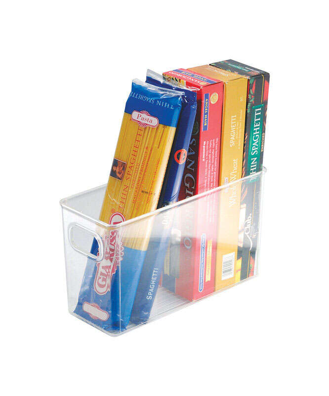 InterDesign  6 in. H x 4 in. W x 10 in. D Storage Bin