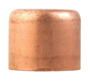 Elkhart  3/4 in. Sweat   x 3/4 in. Dia. Cap  Copper  Cap