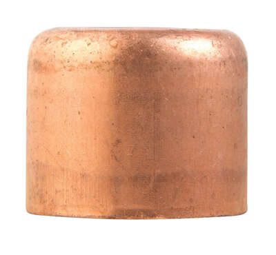 Mueller Streamline  3/4 in. Sweat   x 3/4 in. Dia. Cap  Copper  Cap