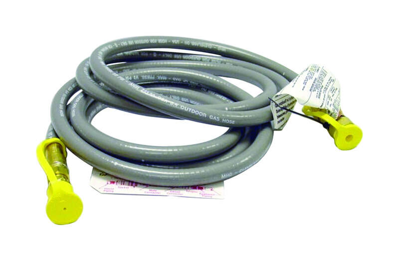 Mr. Heater 3/8 in. Dia. x 3/8 in. Dia. x 12 ft. L Rubber Hose Assembly