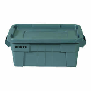 Rubbermaid  Brute  10.7 in. H x 16.5 in. W x 27.9 in. D Stackable Storage Tote