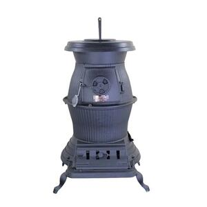 US Stove  Caboose  75000 BTU 1500 sq. ft. Pot Belly Stove