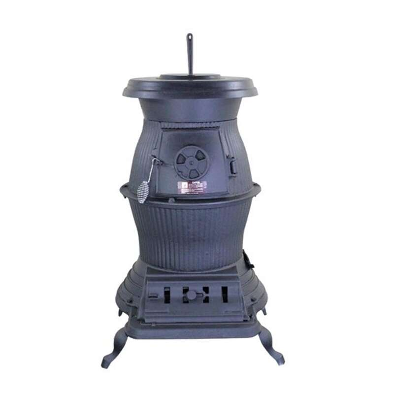 US Stove  Caboose  75000 BTU Pot Belly Stove  1500 sq. ft.