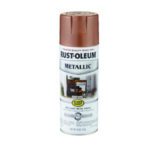 Rust-Oleum  Stops Rust  Copper  Spray Paint  11 oz.