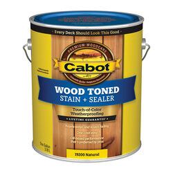 Cabot Transparent Natural Oil-Based Penetrating Oil Deck and Siding Stain 1 gal.