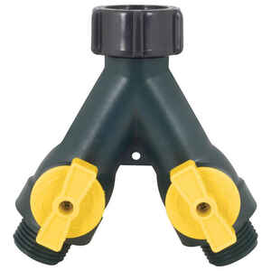Ace  3/4 in. Plastic  Threaded  Female/Male  2-Way Shut-off Valve