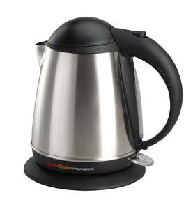 Chef's Choice  Cordless Electric Kettle  Auto Shut-Off  Brushed Stainless Steel  1,700 watts