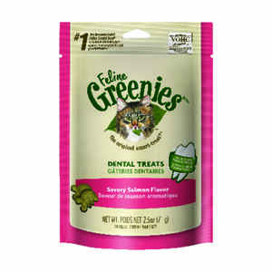 Greenies  Savory Salmon  Cat  Treats  1 pk 2.5 oz.