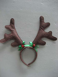 Dyno  Christmas Antlers With Bows  Headband