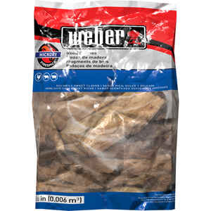 Weber  Firespice  Hickory  Wood Smoking Chunks  350 cu. in.