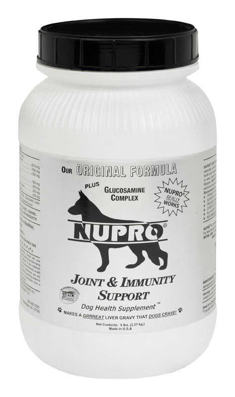 NUPRO  Dog  Joint and Immunity Support  5 lb.