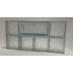 Clear Choice  16 in. H x 32 in. W x 3 in. D Ice  Vented Panel