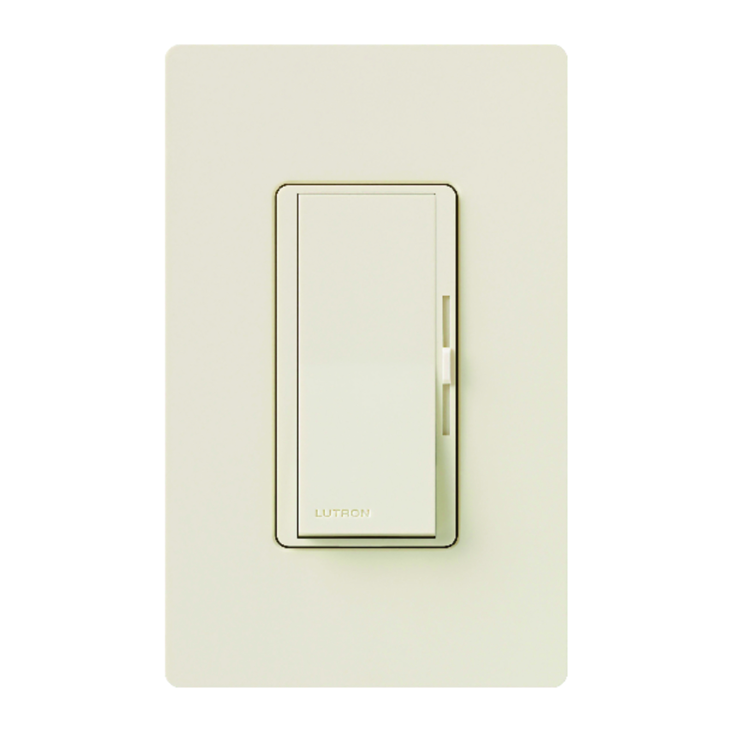 Lutron  Diva  150 watts 3-Way  Dimmer Switch  1  Light Almond