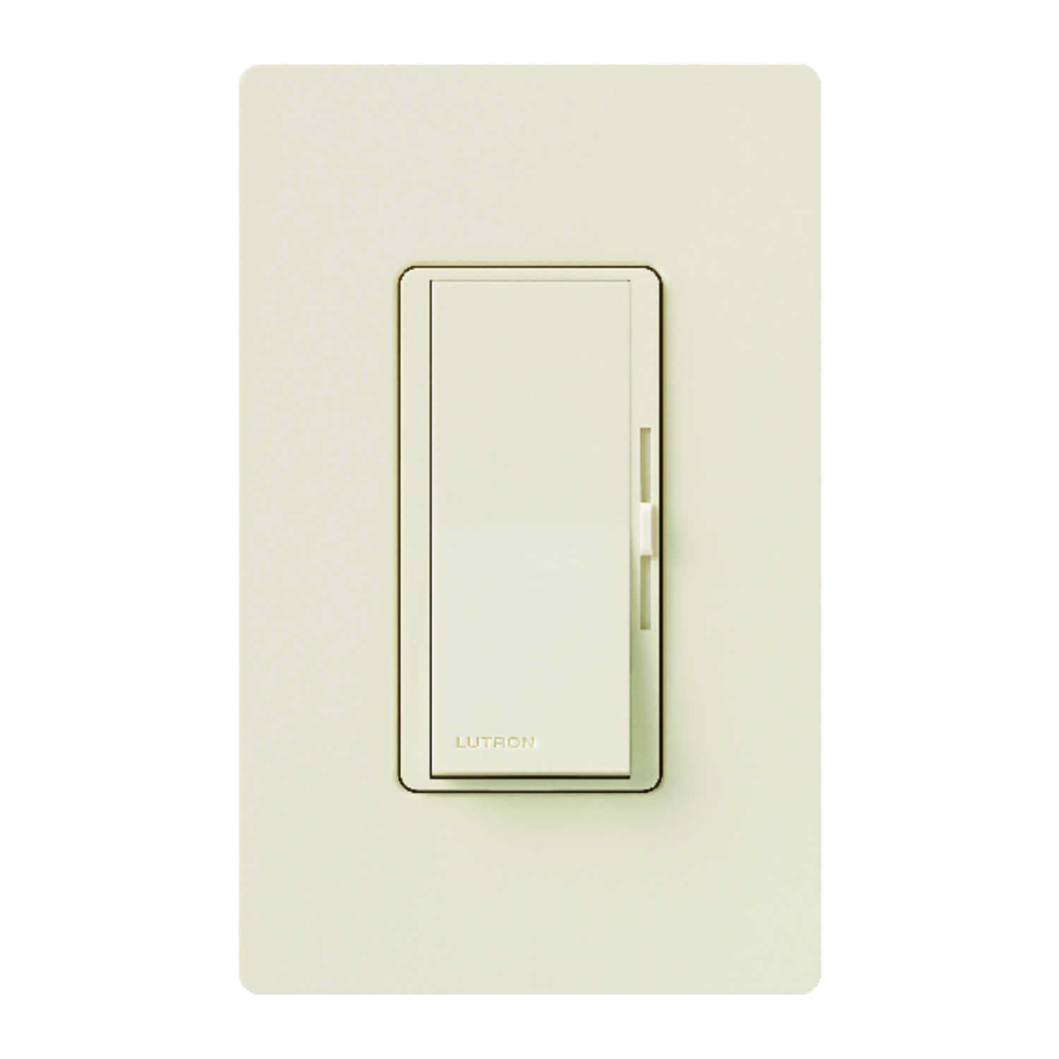 Lutron  Diva  Light Almond  150 watts 3-Way  Dimmer Switch  1 pk