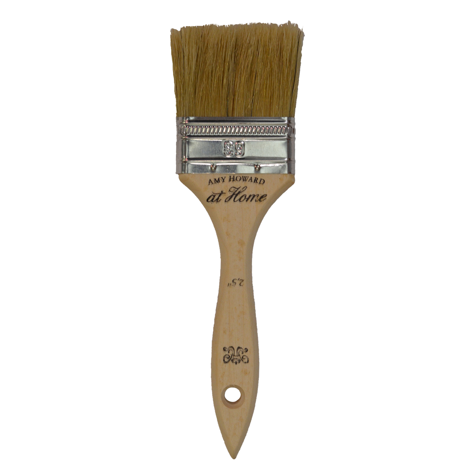 Amy Howard at Home  2-1/2 in. W Flat  Paint Brush  China Bristle