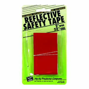 Hy-Ko  24 in. Rectangle  Red  Reflective Safety Tape  5 pk