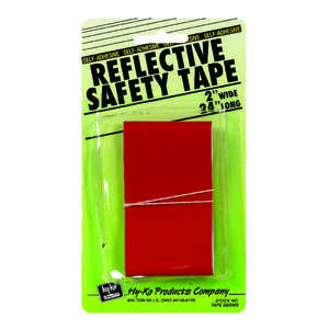 Hy-Ko Safety Tape 2 X 24 Red