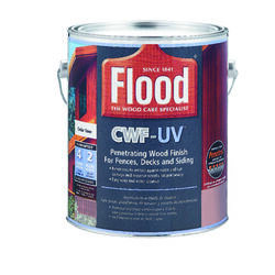 Flood CWF-UV Matte Cedar Water-Based Wood Finish 1 gal.