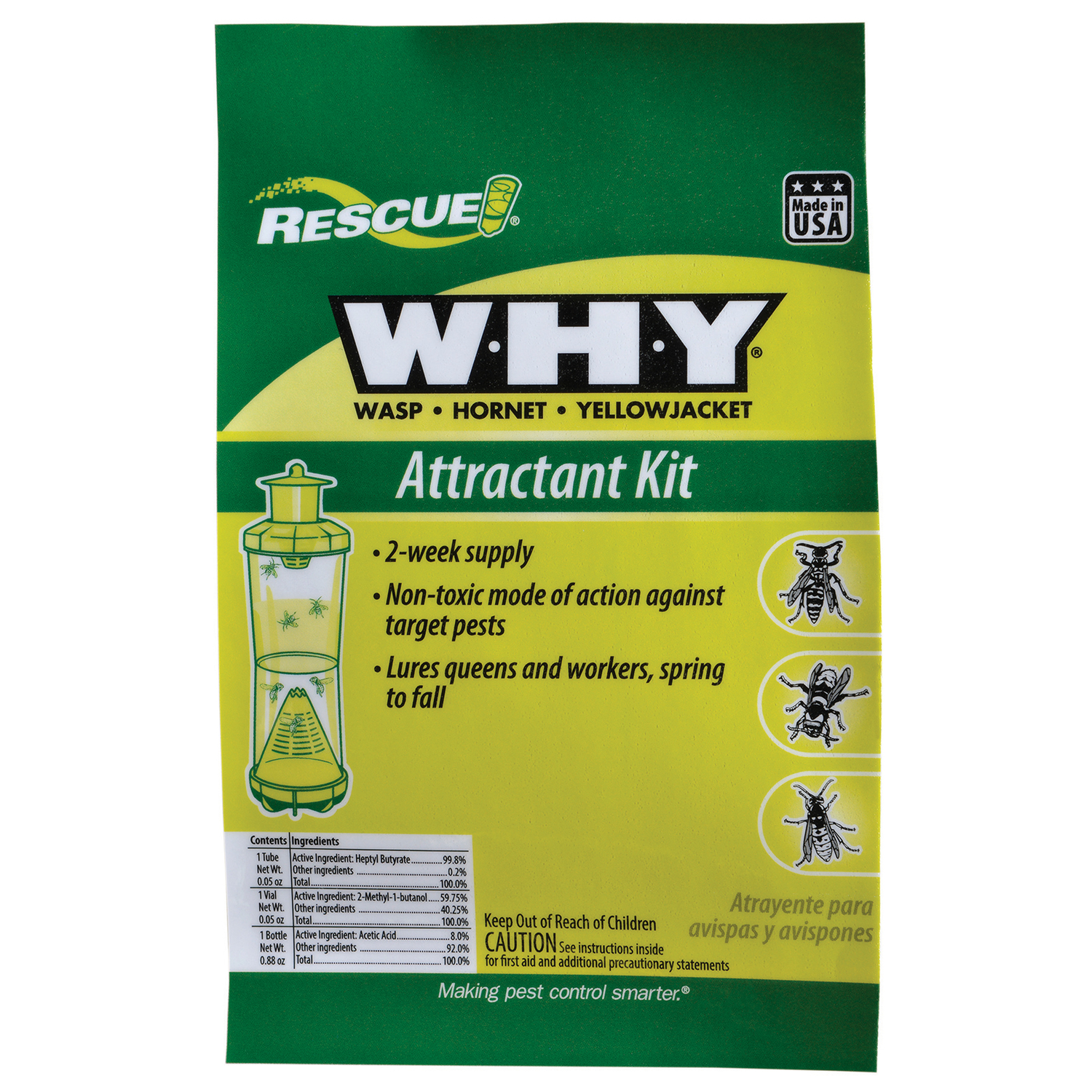 RESCUE  Attractant Kit  1 pk