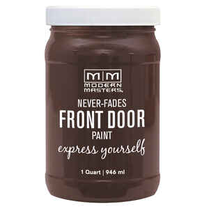 Modern Masters  Satin  Grounded  Front Door Paint  1 qt.