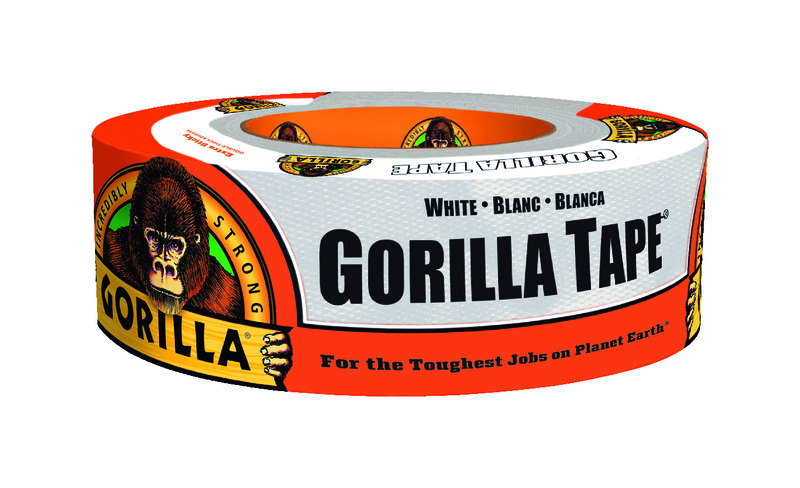 Gorilla  360 in. L x 1.88  W Tape  White