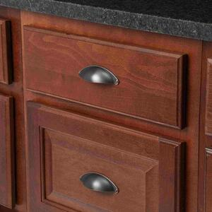 Amerock  Essential'Z Series  Pull Cup  Flush Pull  Oil-Rubbed Bronze  1 pk