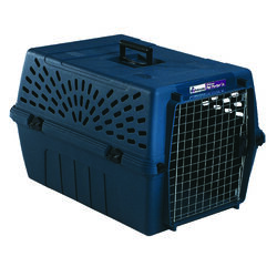Aspen Pet Plastic Pet Kennel Multicolored 14.5 in. H x 16.7 in. W x 24.1 in. D