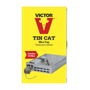 Victor  Tin Cat  Small  Multiple Catch  Animal Trap  For Mice 1