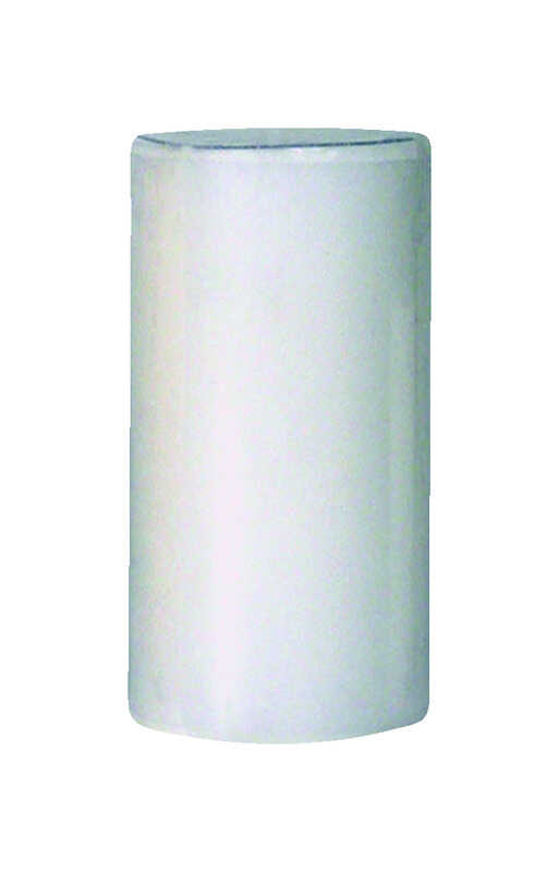 Langley Empire  No Scent White  Pillar  Candle  6 in. H x 3 in. Dia.