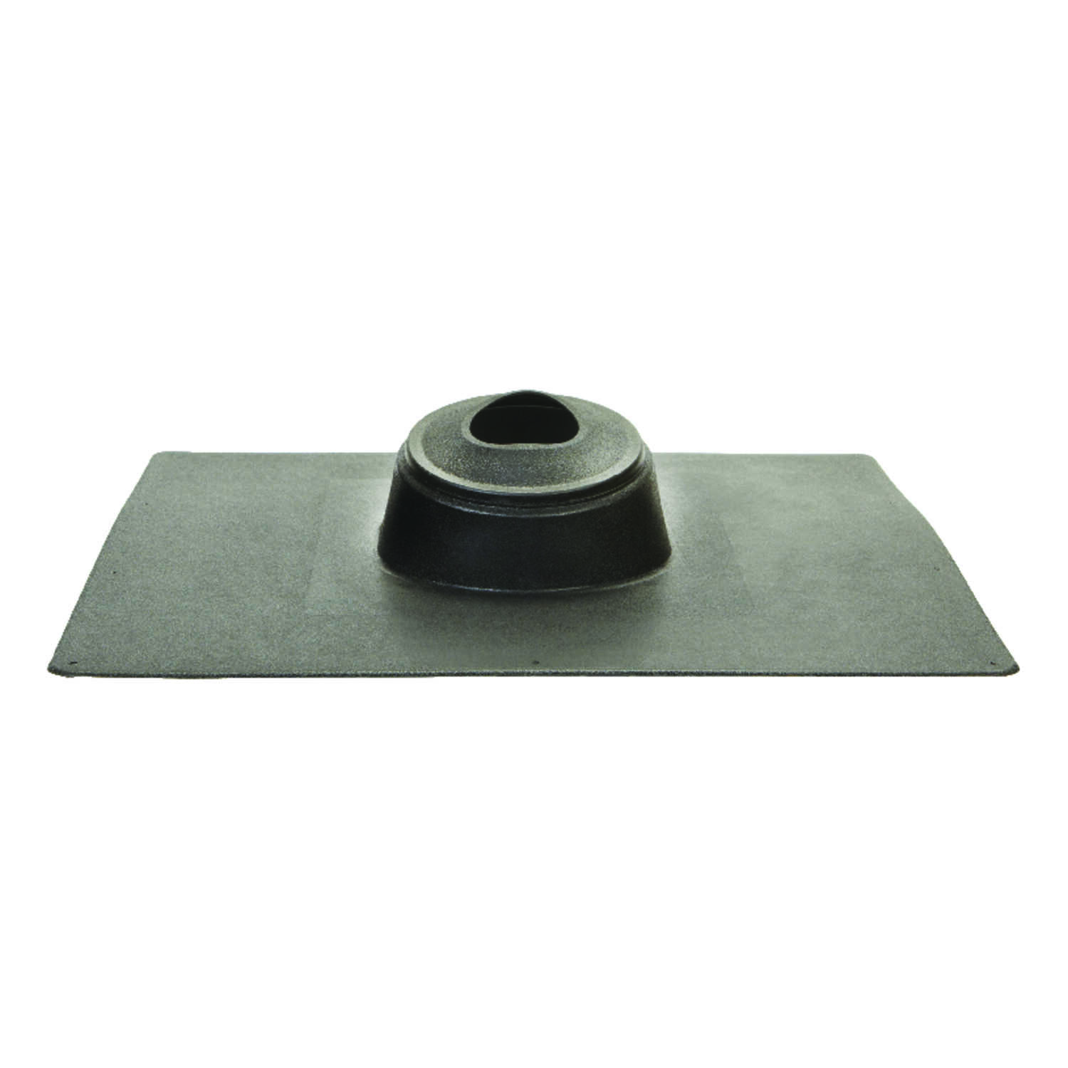 Oatey  No-Calk  3 in. H x 18 in. W x 18 in. L Black  Thermoplastic  Square  Roof Flashing