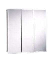 Zenith  25-3/8 in. H x 29-5/8 in. W x 4-1/2 in. D Rectangle  Medicine Cabinet