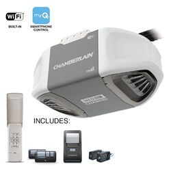 Chamberlain myQ 1/2 hp Chain Drive WiFi Compatible Garage Door Opener