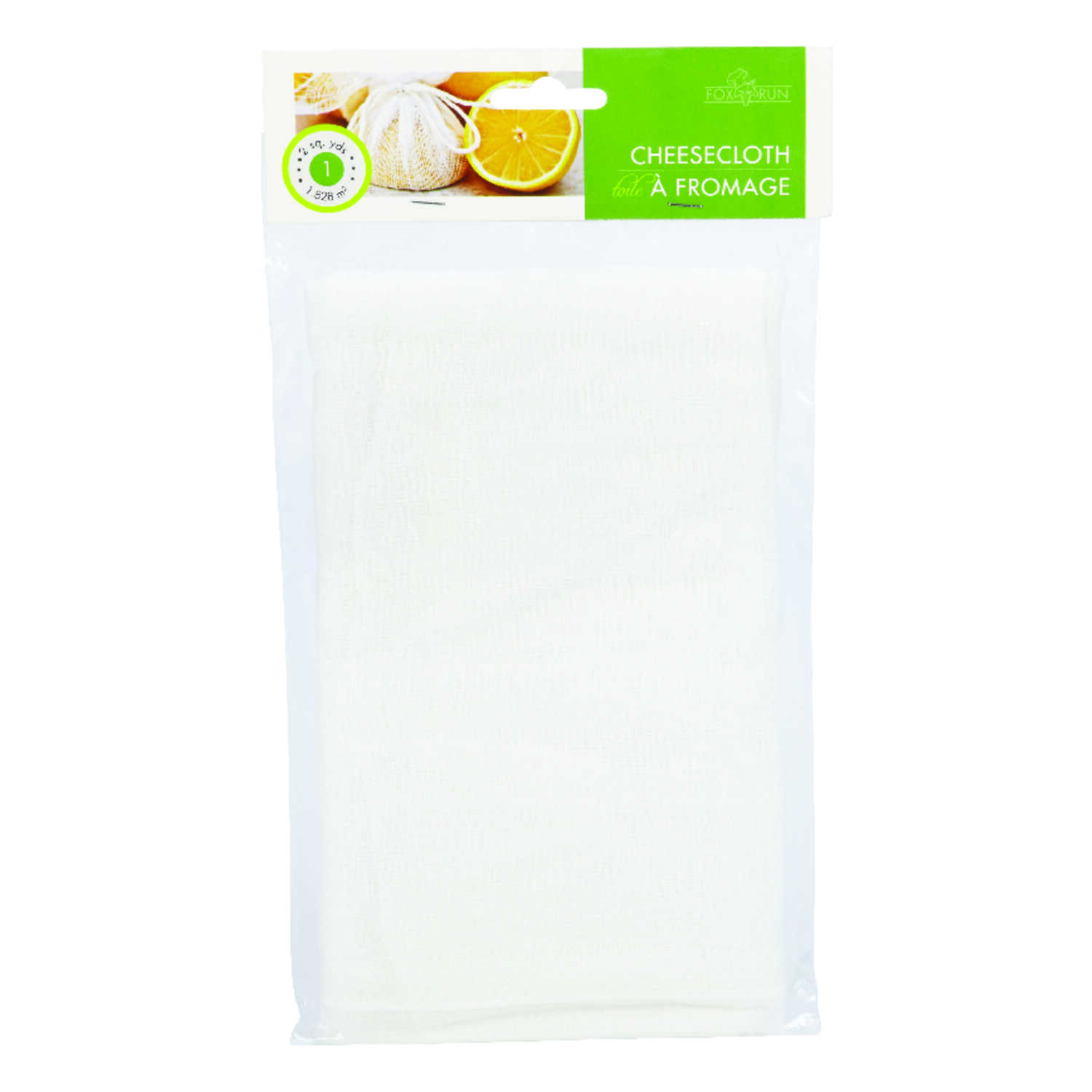 Fox Run  White  Cheese Cloth