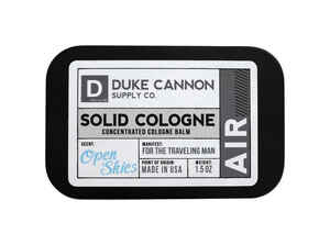 Duke Cannon  Open Skies  Cologne  1.5 oz. 1 pk