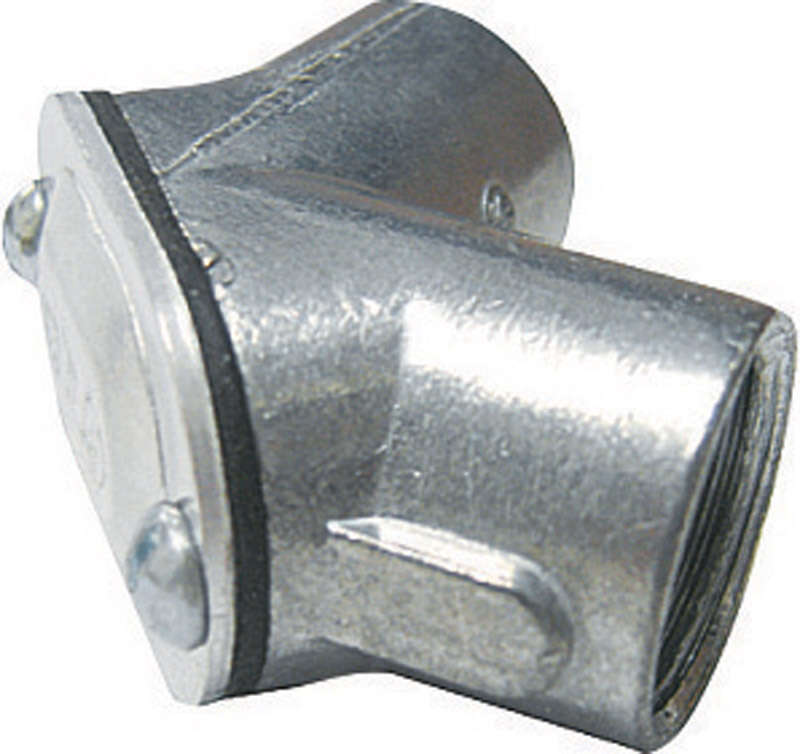 Sigma Electric  ProConnex  3/4 in. Dia. Die-Cast Zinc  Pull Elbow  For Rigid/IMC 1 pk