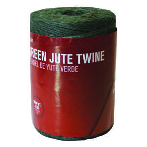 Ace  800 ft. L Braided  Jute  Twine  Green