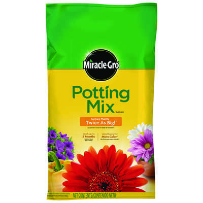 Miracle-Gro  Potting Mix  1