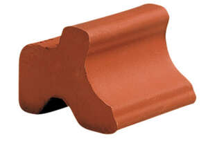 Deroma  3.25 in. H x 1.5 in. W Terracotta  Clay  Planter Feet