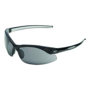 Edge Eyewear  Safety Glasses  1  Black  Smoke