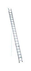 Werner  37 ft. H x 17.38 in. W Aluminum  Extension Ladder  Type II  225 lb.