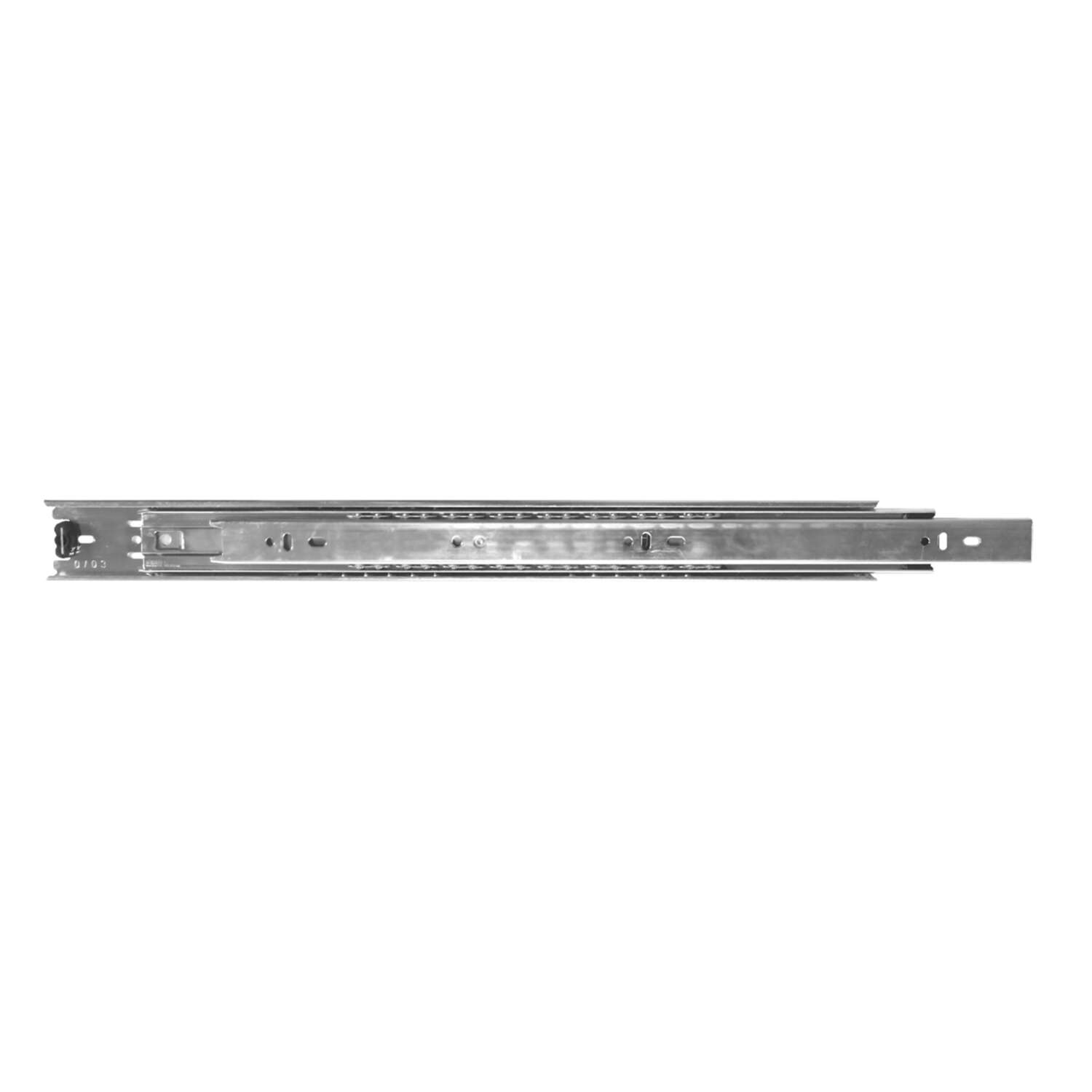 Knape & Vogt 20 in. L Steel Full Extension Drawer Slide 2 pk