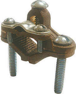 Sigma Electric ProConnex  1/2 in. Bronze  Ground Clamp for Armored Wire  1 pk