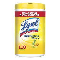 Lysol  Lemon & Lime Blossom Scent Disinfecting Wipes  110 count