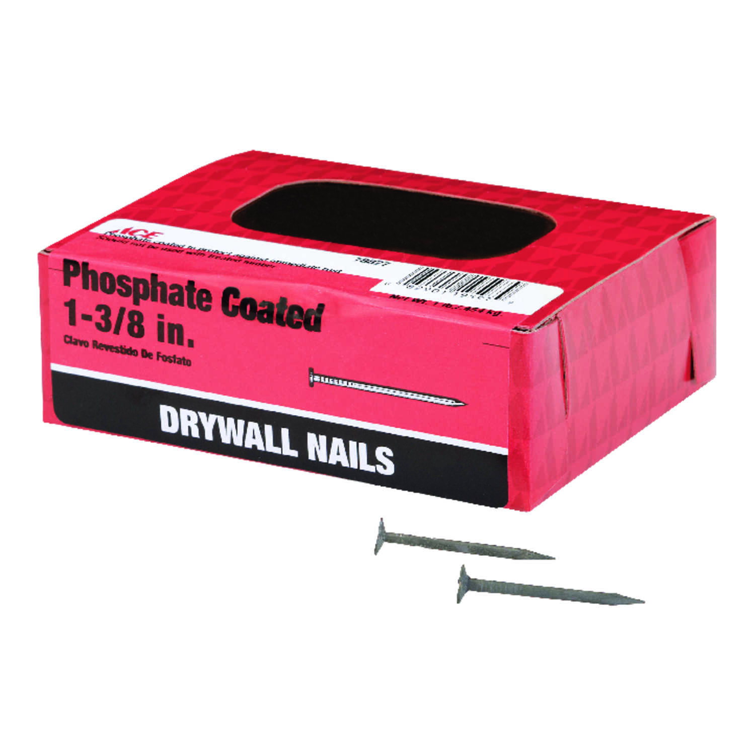 Ace  1-3/8 in. L Drywall  Nail  Smooth Shank  1 lb.
