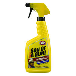 STP  Son of A Gun  Plastic/Rubber/Vinyl  Protectant  Spray  16 oz.
