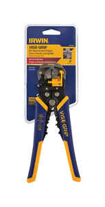 Irwin  Vise-Grip  20 Ga. 8 in. L Wire Stripper