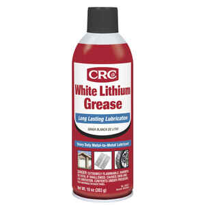 CRC  White Lithium  Grease  Can